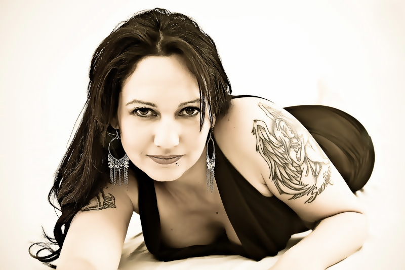 Female model photo shoot of Terra Gwaltney by LL-BDS in NC