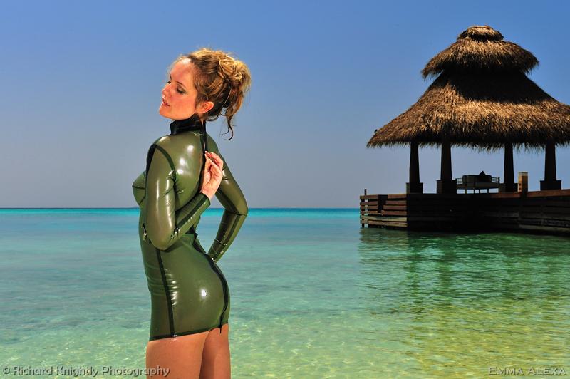 The Maldives Jan 09, 2010 (c) Richard Knightly Photography Island Green