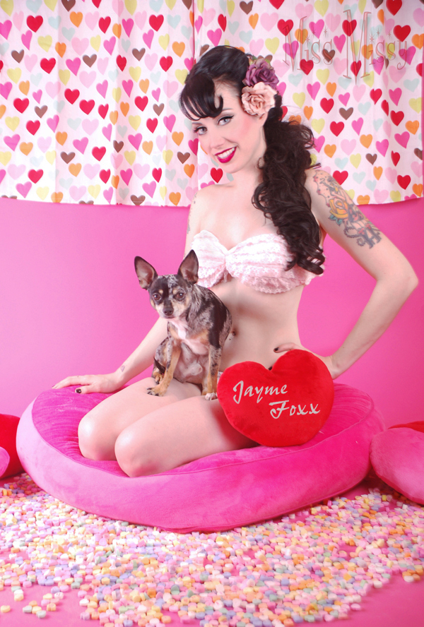 Dallas Texas Jan 09, 2010 www.JaymeFoxx.com Happy Valentines Day &copy by Miss Missy - Jayme and Monroe 2010