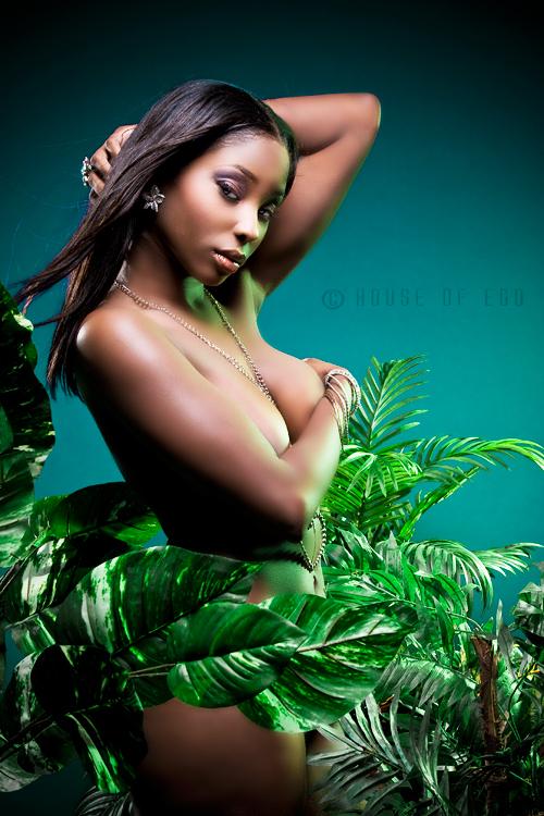 Female model photo shoot of blkb doll