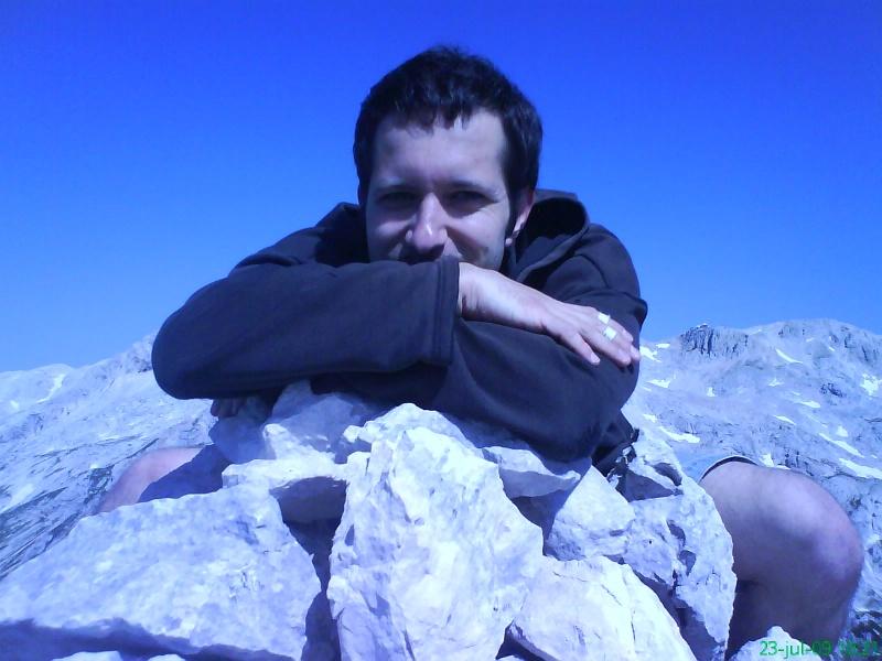 Male model photo shoot of Morph Drummer in Julian Alps, Slovenia