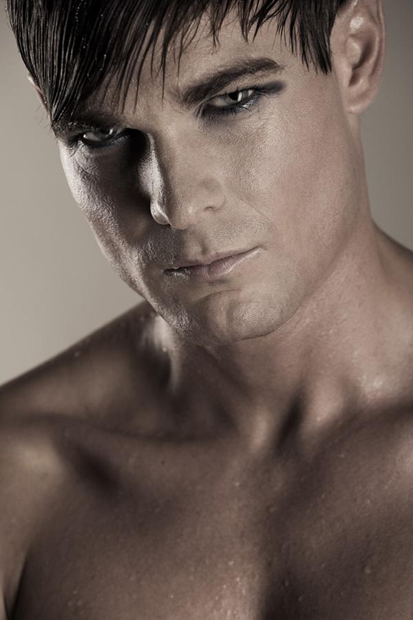 Male model photo shoot of Nico W in Berlin - Studio