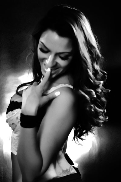 Female model photo shoot of M I R A C L E S