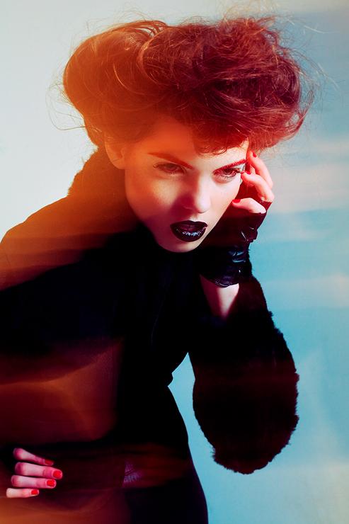 Jan 12, 2010 UTA- Lucyna DanUta Bakowska Model:Mallory@Elite/Angies, Hair:Anne Marie Rooney, Styling/Makeup:Sommer