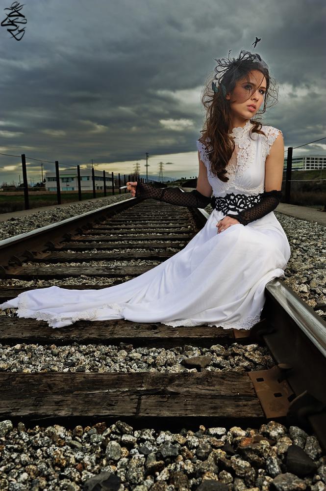 Sunnyvale, California Jan 13, 2010 ©Joseph Gumataotao 2009 Ive Been Smokin On The Railroad_Hairstyling by Wilsons Salon