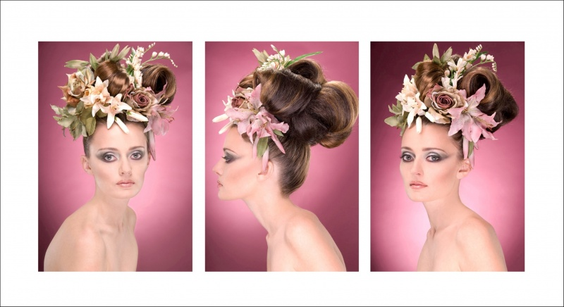 ELM ST STUDIO Jan 13, 2010 RICH FEHRMAN MU-HAIR-FLORAL DESIGN ALL BY GEORGE   MODEL-KATELYN