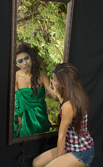 Male and Female model photo shoot of EandJs and LYDDY , makeup by susan ward-brooks
