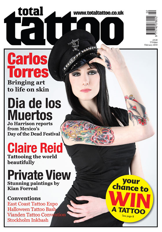 Jan 14, 2010 Craig Burton Photography NEW Total Tattoo Cover