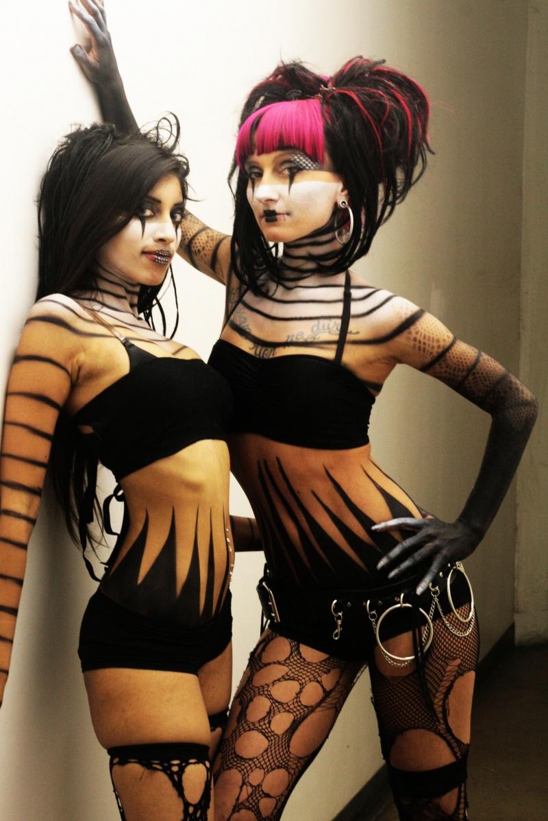makeup by haveron studios LA Jan 15, 2010 @mseasydoesit - Haveron studios 09 thundercats