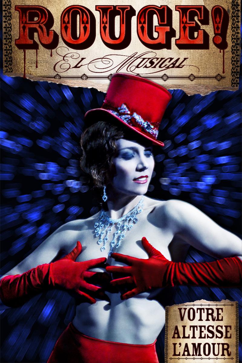 Nuevo Alcala Theatre, Madrid Jan 18, 2010 Model: Laura Olivella Rouge! El Musical - Soon in a theatre near you!