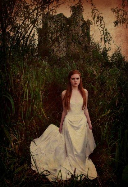 Female model photo shoot of Patricia Ward in Trim castle