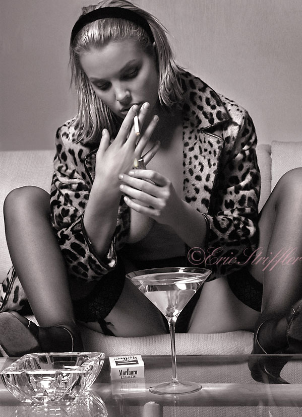 Water Mill, NY Studio Jan 20, 2010 ©Eric S Emmie Loves Martinis and Marlboro Lights...