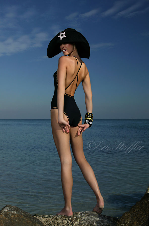 Key Biscayne Jan 20, 2010 ©Eric Striffler Photography Eres Swimsuit Hermes Bracelets