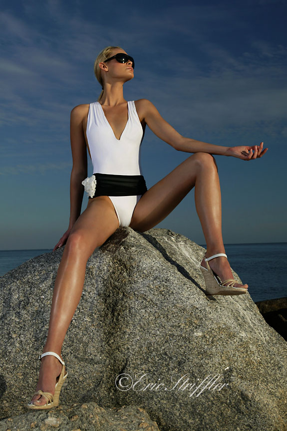 Key Biscayne Jan 20, 2010 ©Eric Striffler Photography Swimwear Editorial
