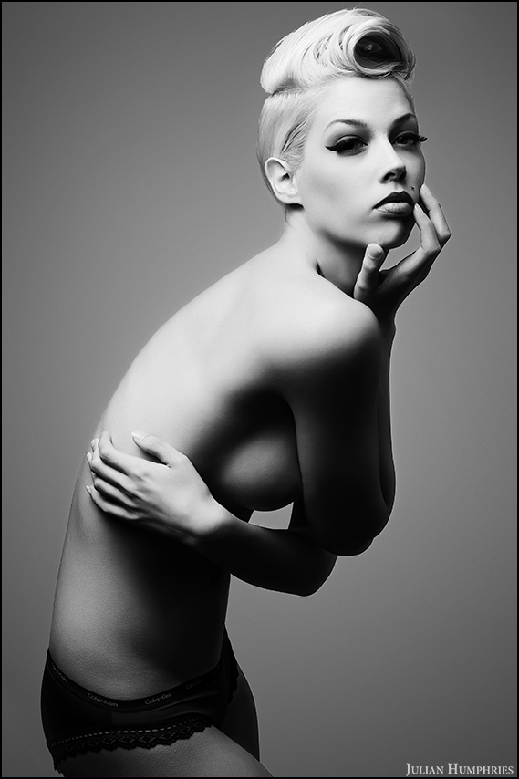 Female model photo shoot of Brittany Powell by Julian Humphries in Austin, Texas, makeup by Method of Makeup