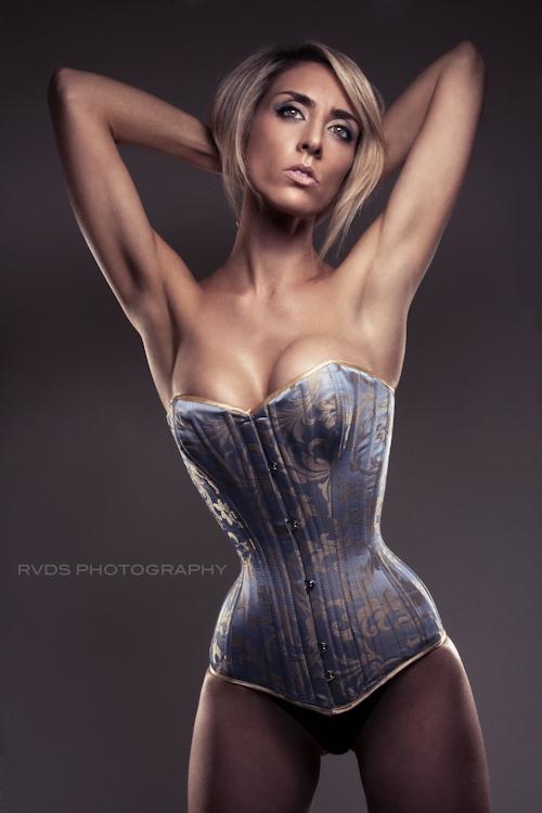 Female model photo shoot of Sasha Larner by RVDS in UK