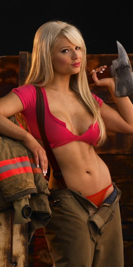 Zebra studio with Glen Jan 23, 2010 Picture for firefighter calendar