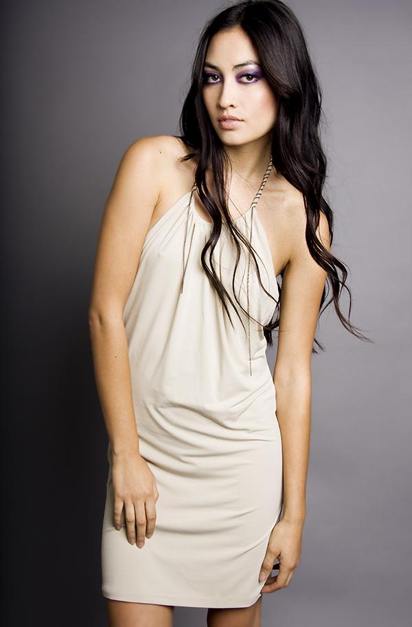 Female model photo shoot of Gabrielle Geiselman  in Assistant: Janine Nock MUA: Cazzie Mayora
