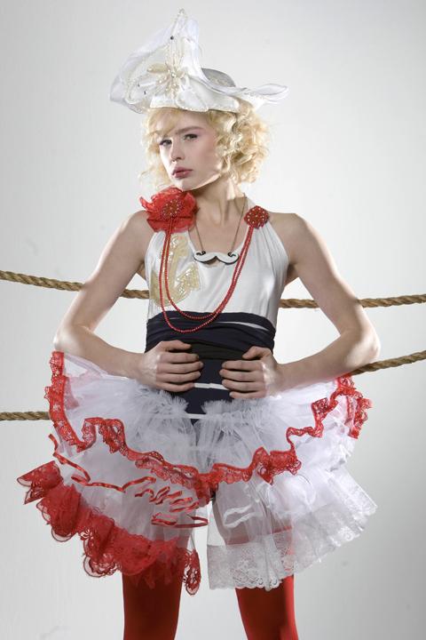 Brooklyn, NY Jan 25, 2010 Photography: Steve Prue  Model: Ewelina Sweet Sailors and Pretty Pirates Photoshoot