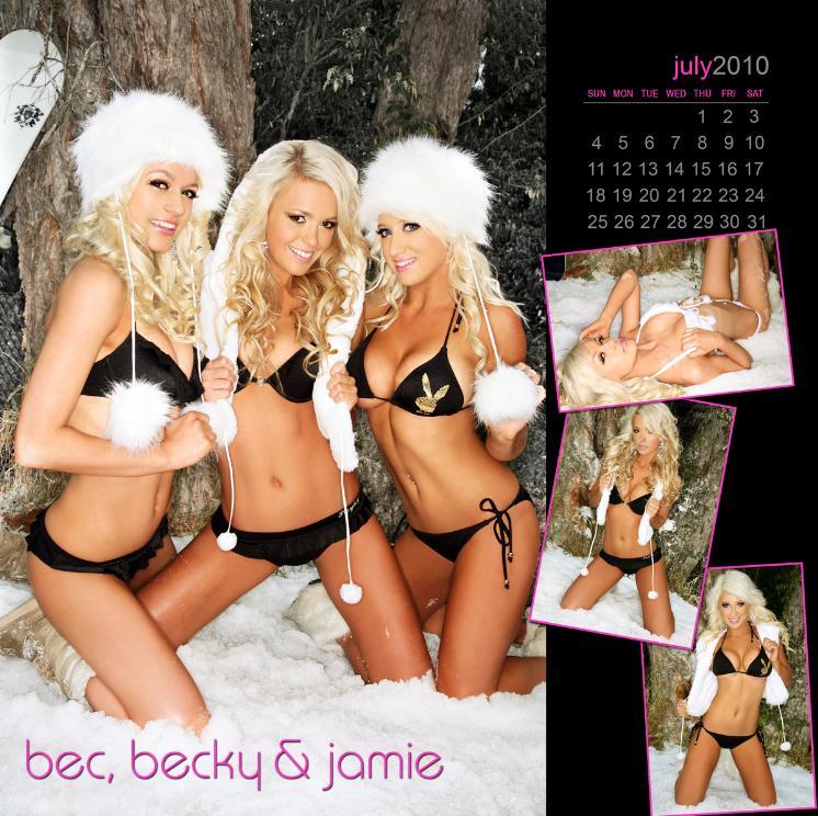 Jan 27, 2010 Girls of Vixen 2010 Calendar