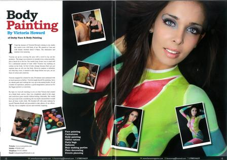 Jan 27, 2010 Tear Sheet (Print), Face on Magazine