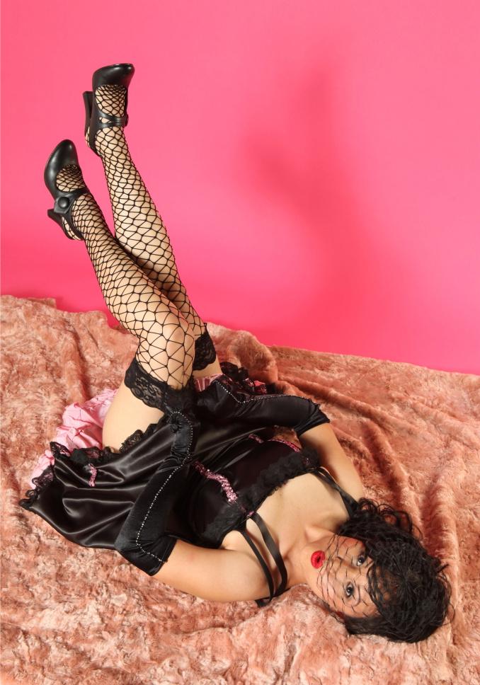 San Dimas, Ca Jan 27, 2010 Mitzi & Co. Photography: Mitzi.     Makeup/hair: Liz Carillo Can Can girl