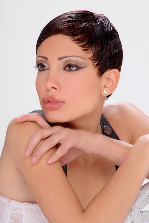 Female model photo shoot of YAUNA in Los Angeles, CA