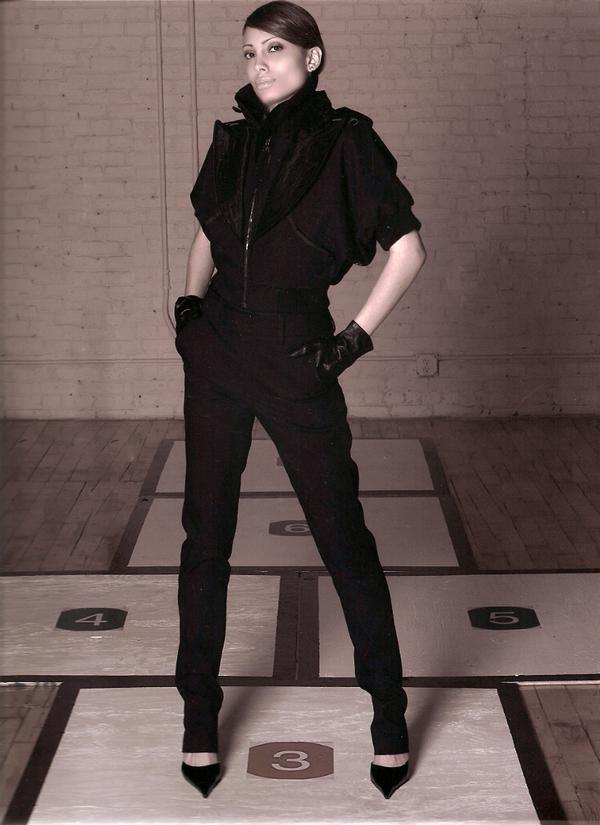 Female model photo shoot of YAUNA in New York