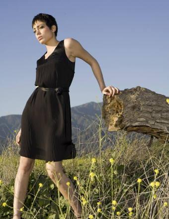 Female model photo shoot of YAUNA in PassTown, CA