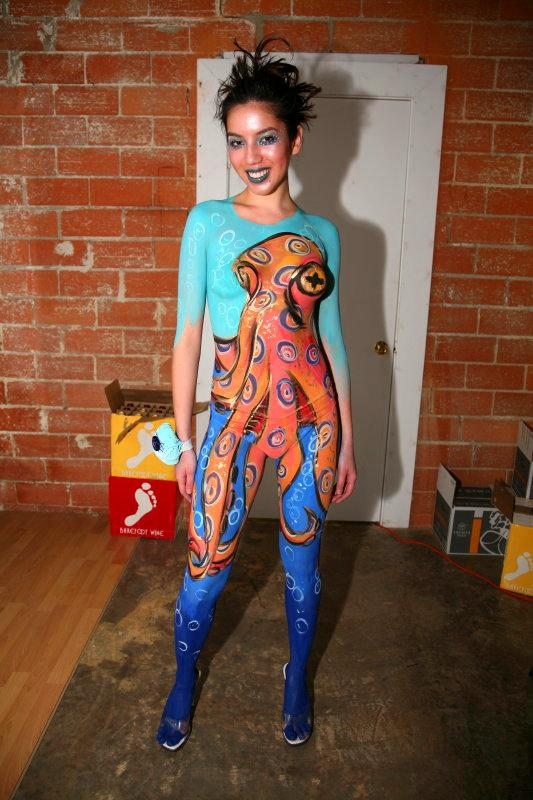 Dallas 4 Dog Studio Jan 29, 2010 2007 Model:Ill have to find her Body Paint: Me Photo:Scott Hunter Smith