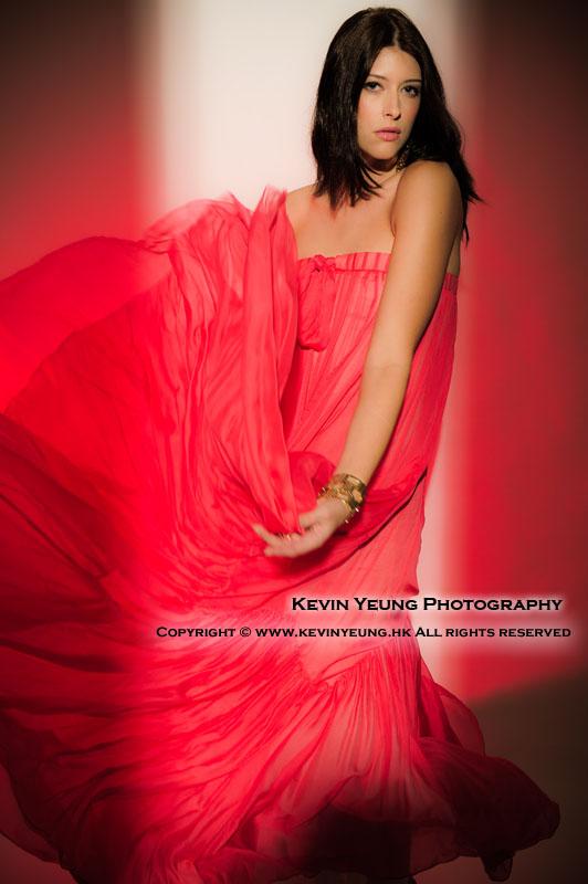 Male and Female model photo shoot of KevinYeungPhotography and Sabrina Sikora in Hong Kong