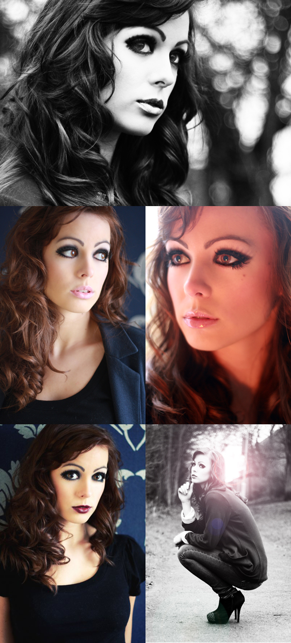 Female model photo shoot of Heather Louise and Natalie Hilton in Nottinghamshire, makeup by Rochelle OBrien
