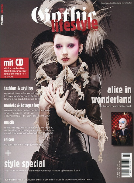 Jan 30, 2010 Allan Amato Gothic Lifestyle cover issue 3