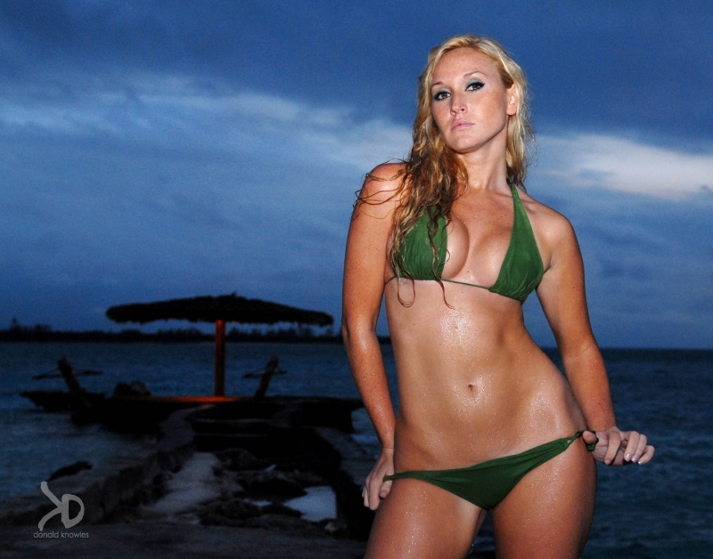 Female model photo shoot of The Kate Knight by Donald Knowles in Nygard Cay