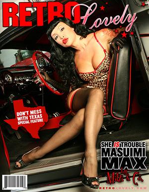 California Feb 03, 2010 2010 Masuimi Max / Mitzi & Co. Retro Lovely #1 Cover