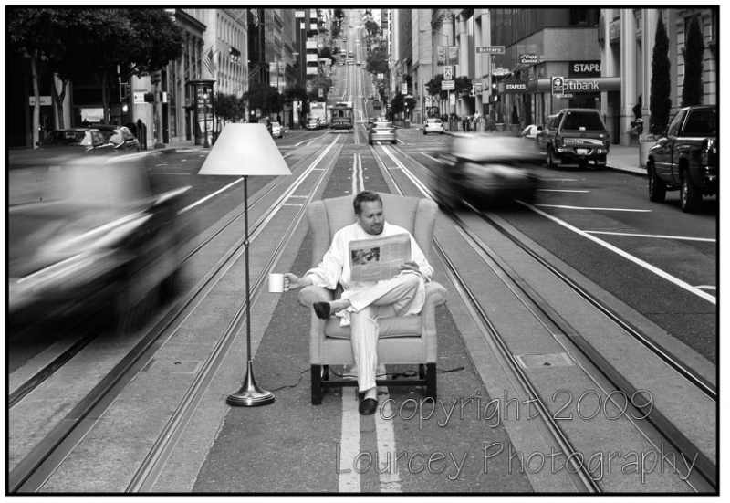 San Francisco, CA Feb 05, 2010 Copyright 2009 Lourcey Photography Morning Coffee
