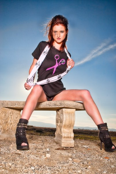 Female model photo shoot of Dani Claire by DJ IMAGERY