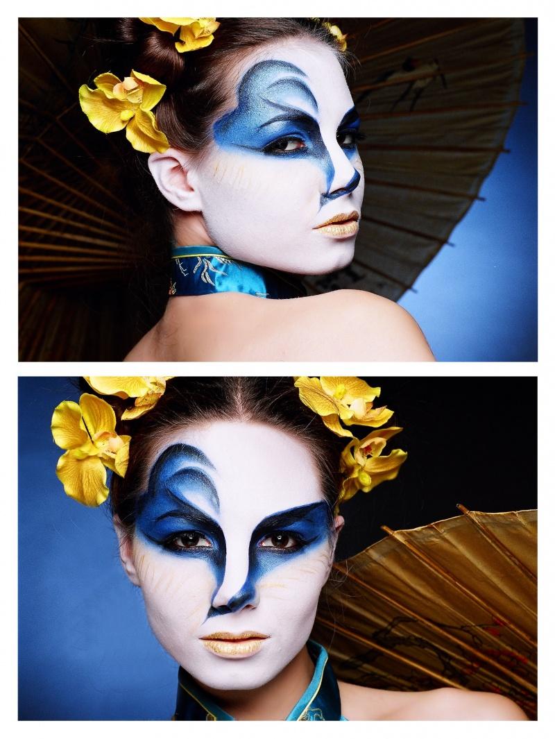 Toronto, Canada Feb 07, 2010 Venician mask inspired...