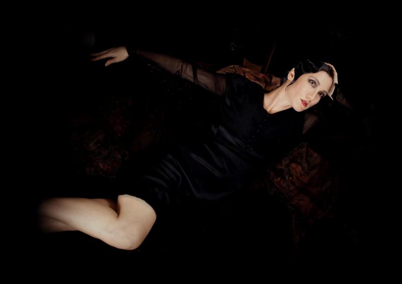 Female model photo shoot of HAPA INTRIGUE in Stella's Dress Shop