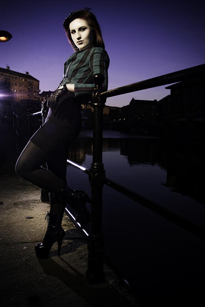 Male and Female model photo shoot of Conrad Hercberg and Ambellina