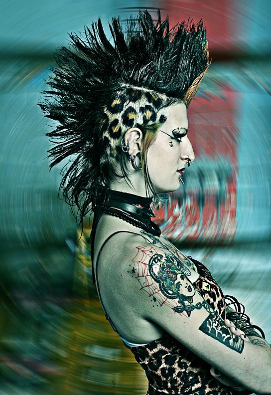 Montreal Feb 08, 2010 Bernard Clark Karine-Montreal, shot for Skin & Ink but not published