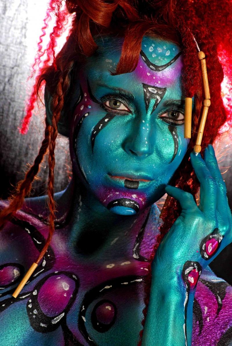 Orlando, FL Feb 09, 2010 Rafael Colon Photography, LLC Alien Beauty   - Hair by Kenny Mak