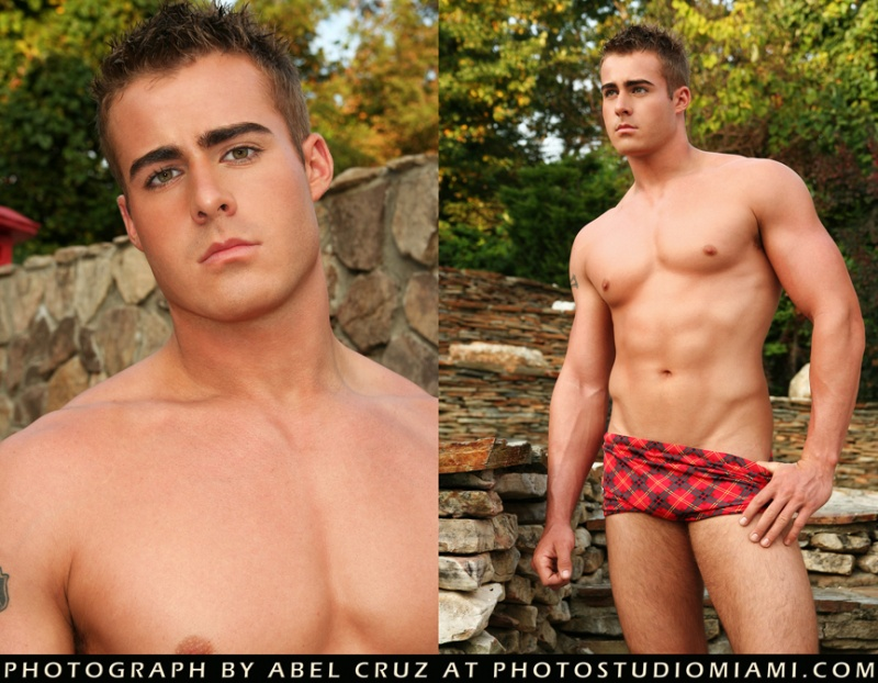 North Carolina Feb 11, 2010 Photo Studio Miami model: Chad Caldwell / fashion: Machicao