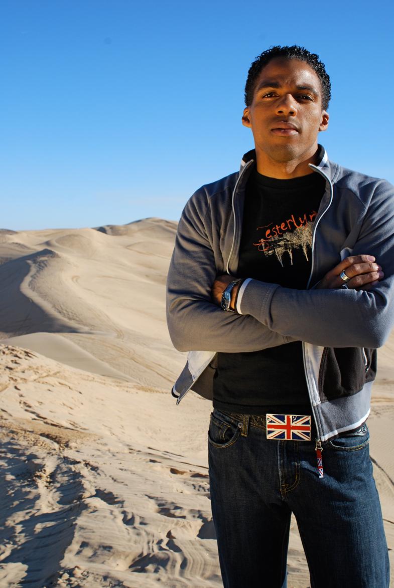 Male model photo shoot of William H. Caple III in Imperial Sand Dunes, California