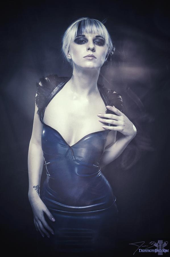 Feb 14, 2010 Destroy Inc.  Loriel Andrea in The Madam dress by Destroy Inc.