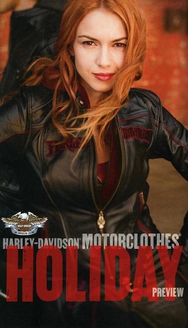 Los Angeles Feb 14, 2010 Harley Davidson 09 Harley Davidson MotorClothes Winter Holiday Catalog Cover