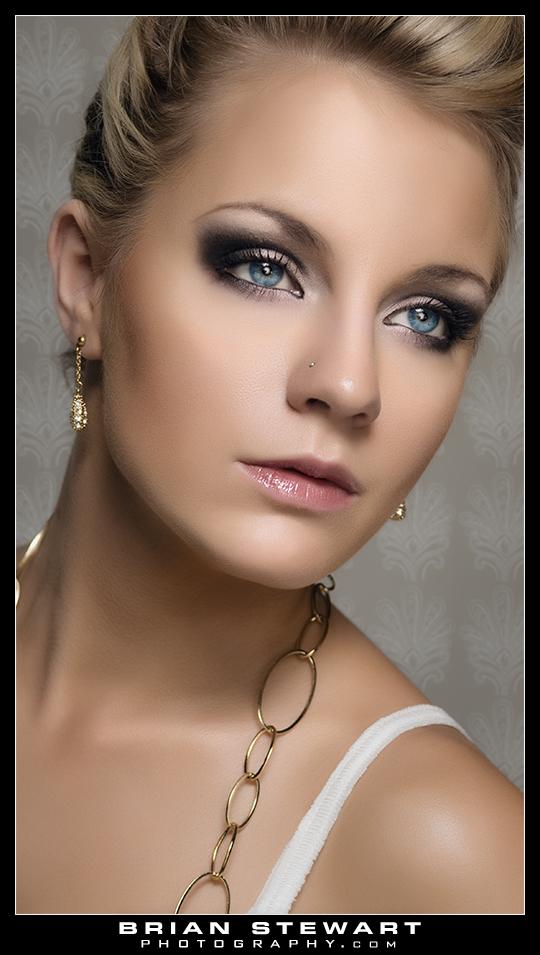 Feb 14, 2010 Brian Stewart Photography Model Krystal. MUA/Hair By Tara Ward