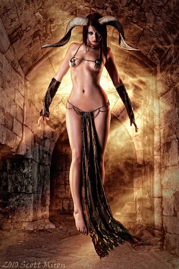 A Dark Passageway Feb 15, 2010 2010 Scott Miron The Demoness Awaits...