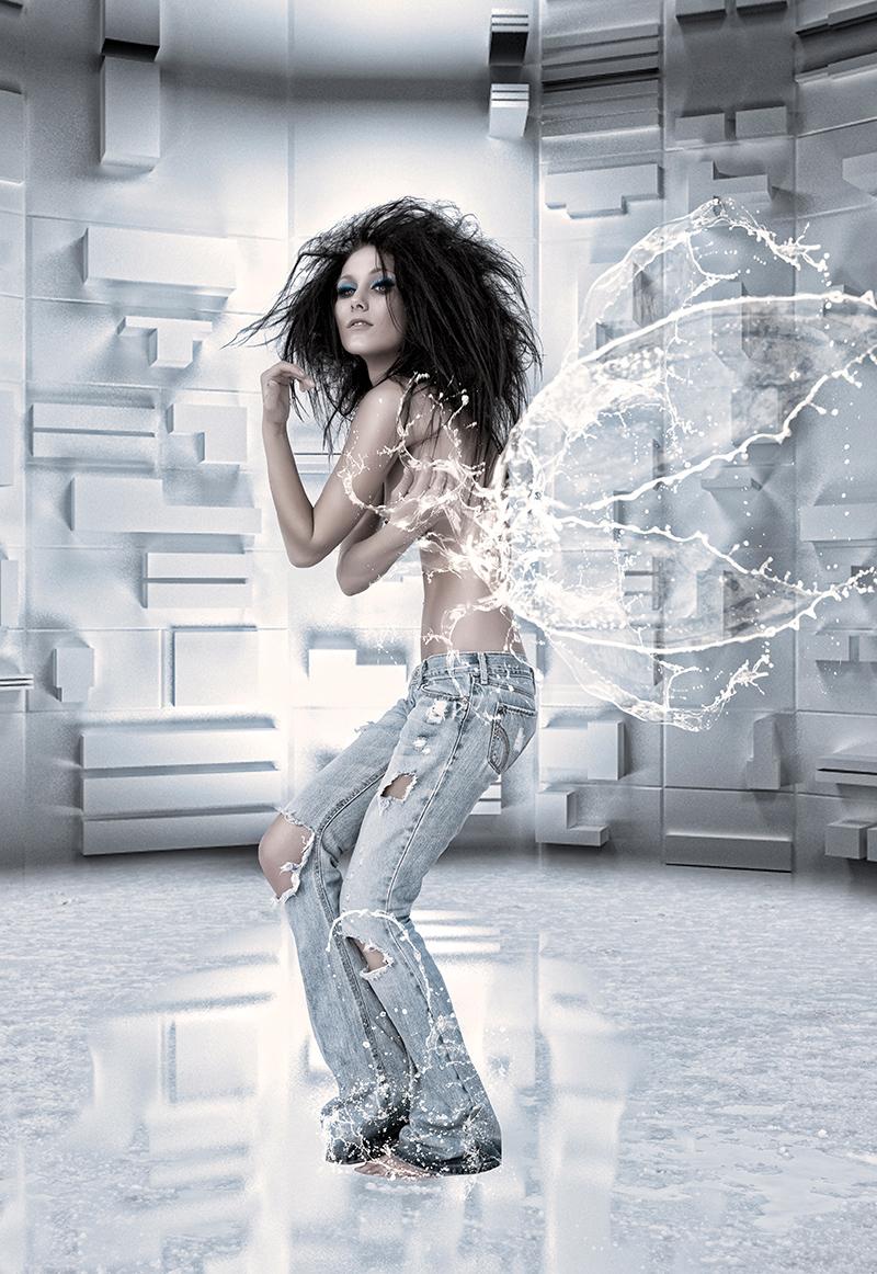 Female model photo shoot of HQ Retouch by J T I