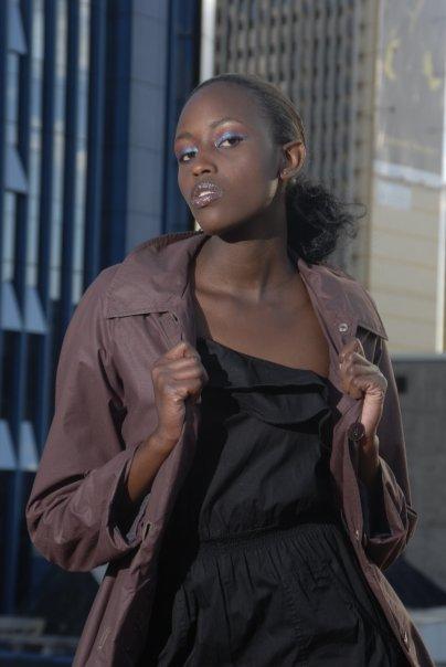 Female model photo shoot of CIRU Maina in Nairobi